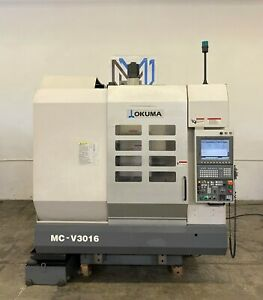 Okuma Mc v3016 Vertical Machining Center 30x16 Cnc Mill Osp p200m Mori Haas