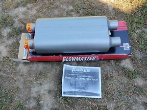Flowmaster 50 Series Muffler 2 1 2 Duel Inlet Outlet 8525554