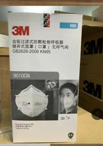 3 M 9010cn 5 Piece Fast Shipping Individual Piece Bag