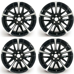 Set Of 4 New 19 Wheel For Toyota Camry 2018 2020 Oem Quality Alloy Rim 75222