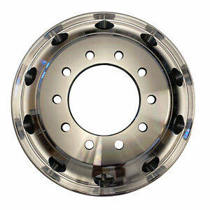 New 22 5 X 8 25 Aluminum Hd Truck Trailer Wheel Rims Hub Alcoa Style Dually 10 L