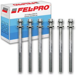Fel pro Cylinder Head Bolt Set For 2013 Subaru Wrx Sti Felpro Engine Lb