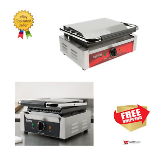 Avantco galaxy Smooth Commercial Restaurant Panini Sandwich Grill Press Griddle