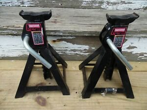 Craftsman 50176 2 25 Ton Jack Stand Pair One Set Automotive Car Truck Stand