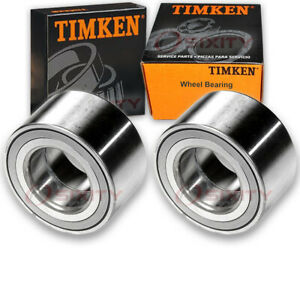 Timken Front Wheel Bearing For 2009 2015 Toyota Venza Pair Left Right Driver Gi