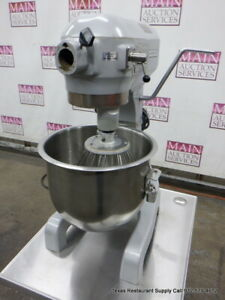 Hobart A200 20 Qt Dough Mixer With Bowl And 1 Attachment