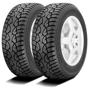 2 New Point S Continental Winterstar St 175 70r14 88t Xl Winter Tires