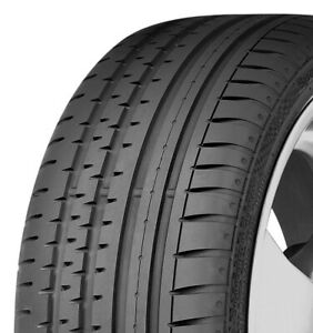 One Continental Contisportcontact 2 245 45zr18 100w Xl j High Performance Tire