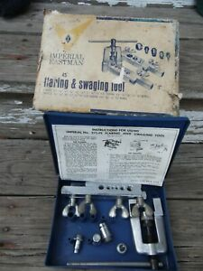 Imperial Eastman Vtg Tube Pipe 45 Degree Flaring Swaging Kit 7 Piece 275 fs Usa