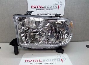 Toyota Tundra Sequoia Left Front Headlight Lamp Genuine Oem Oe