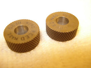 Vintage Reed Knurl Roller Wheel Bf 30 Set Of 2 New Old Stock