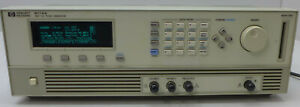 Agilent Hp 8114a Pulse Generator Options 001 503 Tested And Working