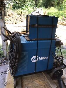 Miller Xr A Welder 460 575 Volts 3 Phase Air Cooled Wire Feeder Commercial