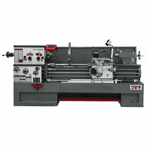 Jet 321573 Gh 1660zx Zx series 16 X 60 Spindle Bore Lathe With Collet Closer