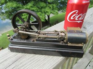 Vintage Original 1940 s Stuart Steam Engine Mill Type Engine 8 1 2 Long Works