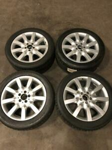 Set Of 4 Oem 18 05 12 Mercedes W221 S450 S550 8 5 X 18 Wheels Rims Tires
