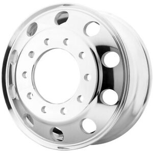 Atx Ao400 Baja Front 22 5x9 10x285 75 79mm Polished Wheel Rim 22 5 Inch