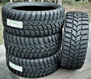 4 New Crosswind M t Lt 35x12 50r24 Load E 10 Ply Mt Mud Tires