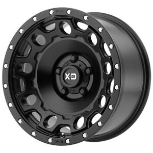 4 xd Series Xd129 Holeshot 17x9 6x5 5 12mm Satin Black Wheels Rims 17 Inch