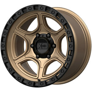 5 xd Series Xd139 Portal 17x9 5x5 12mm Bronze black Wheels Rims 17 Inch Jk Jl
