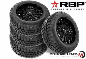 4 Rbp Repulsor M t Rx 33x12 50r20lt 114q 10 ply e Off road Truck Mud Tires