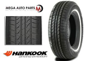 1 Hankook Optimo H724 P215 75r15 100s White Wall Wsw All Season Touring Tires