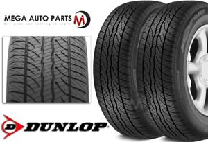 2 New Dunlop Sp Sport 5000 P245 45r18 96v All Season High Performance Tires