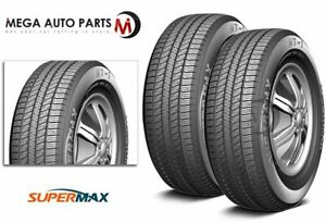 2 Supermax Ht 1 Ht1 Lt245 75r16 120 116s E 10 Ply All Season Tires For Suv Truck