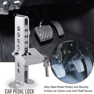 C03 Brake Pedal Lock Security Car Auto Stainless Steel Clutch Lock Anti Theft Us