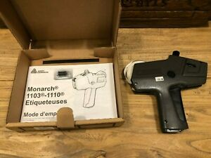 Monarch Pricing Gun 1110 Retail Price Sticker Label Maker Extra Ink Roller