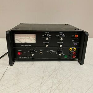Lab volt Ac dc Dual Voltage Power Supply Tested And Works Great