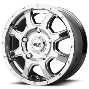4 Moto Metal Mo970 17x8 5x130 50mm Pvd Wheels Rims 17 Inch