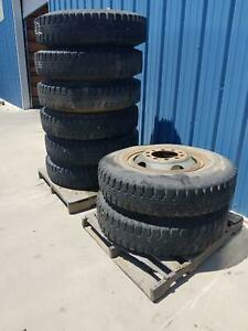 Used Set Of 6 Military 1100 22 Bf Goodrich Tire On Wheel Traction Express
