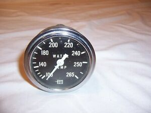 Vintage Stewart Warner 100 265 Water Temperature Gauge Nice