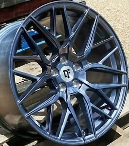 20 Arctic Forged Downforce Dc10 Wheels 20x10 20x11 5x114 3 Flow Formed Mustang