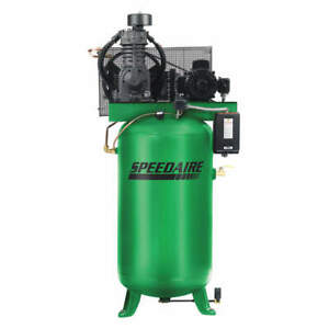 air Compressor 80 Gallon 5hp 3ph 2 Stage 175 Psi 35wc42 New