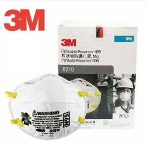 3 M Pack Of 20 New Protective Mask N Grade 95 Never Opened Fast Shipping