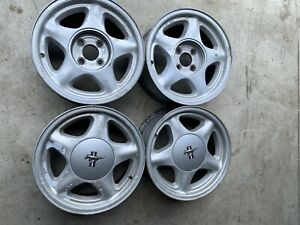 87 93 Ford Mustang Oem 16 Pony Wheels Gt Lx 5 0 16x7 Factory Rims 302 Foxbody 5