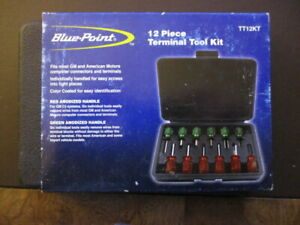 Blue Point 12 Piece Wire Terminal Tool Kit Tt12kt