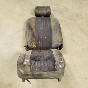 Mg Mgb 1972 Original Right Rh Passenger Side Car Seat Oem