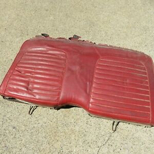 1965 1966 1967 Used Ford Mustang Rear Seat Oem Upper Coupe