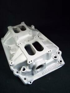 Rarely Seen Offenhauser 430 455 Buick 2x4 Dual Quad Intake Flawles Looks Nu 5882