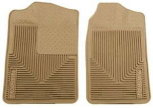 Husky Liner Heavy Duty Front Floor Mats Tan Gm C K Trucks Suvs 51013