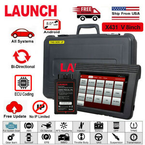 Launch X431 V Pro Obd2 Bi directional Scan Tool Full System Diagnostic Scanner