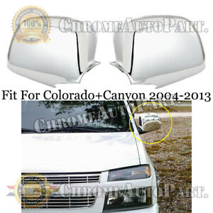 For Gmc Canyon 2004 2013 Chevy Colorado 2004 2013 Chrome Full Side Mirror Covers