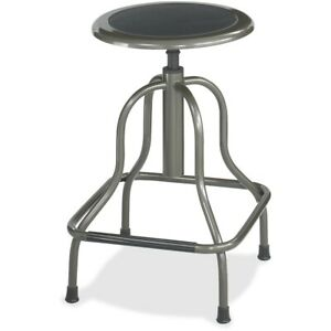 Safco Diesel Series High Base Stool With Out Back 250 Lb Load Capacity Steel