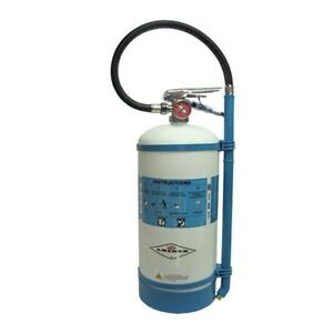 Amerex 1 75 Gal Non magnetic Water Mist Fire Extinguisher W Brass Valve