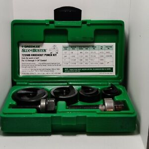 Greenlee 7235bb Slug Buster Knockout Punch Set