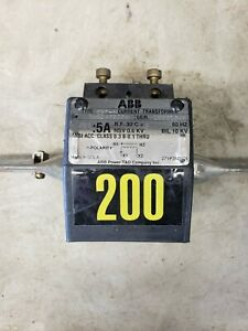 Abb Cbt t 200 5a Current Transformer Used