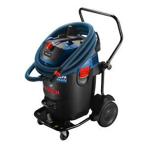 Bosch 17 gallon 300 cfm Dust Extractor Auto Filter Clean And Hepa Filter used